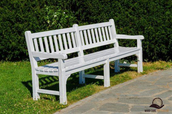 White-Teak-Bench